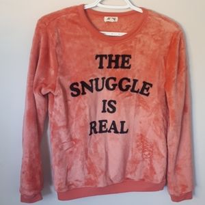 """""""The Snuggle Is Real"""" Cozy Lounge Top - Size XS"""